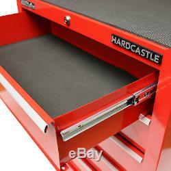 Cabinet Verrouillable De Rouleau De Boîte De Rangement De Coffre D'outil Du Métal Rouge 5 Tiroirs / Cabine De Roulement