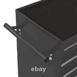 Chariot À Outils Vidaxl Avec 15 Tiroirs Steel Black Tool Storage Drawer Cabinet
