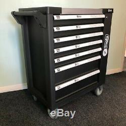Chariot Outil Cabinet Avec 254 Outils Atelier Acier Coffre De Rangement Porte Toolbox