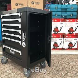 Chariot Outil Cabinet Avec 399 Outils Atelier Acier Coffre De Rangement Porte Toolbox
