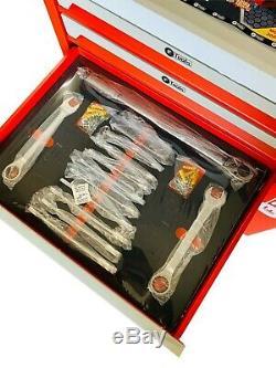 Chariot Outil Cabinet Avec 419 Outils Atelier Acier Toolbox D'outils Rrp1350