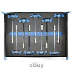 Coffre À Outils Hyundai 291 Pièce Pro Meuble À Roulettes Monté Sur Roulettes À 7 Tiroirs Hy292