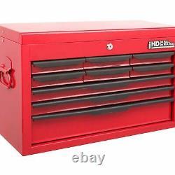 Coffret D'outils 9 Tiroirs Roll Cab Top Box Cabinet Unité De Stockage Lourde