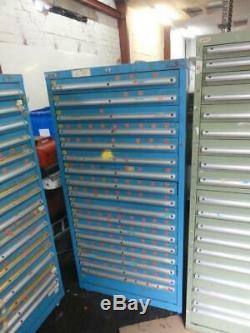 Dexion Cabinet 17 Tiroirs Extra-robustes À Roulement À Billes Boîte À Outils Pour Ingénieurs
