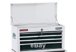 Draper 6 Outil En Métal Blanc Tiroirs À Roulement À Billes Armoire De Rangement Boîte