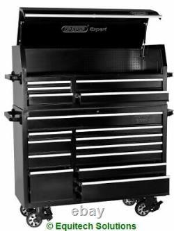 Draper Expert Tools 11402 56 Roll Cabinet Top Chest Stack 16 Tiroir Noir