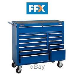 Draper Rc12b / 40 / Bl 12 Tiroir 40 Po Bleu Rouleau Cabinet