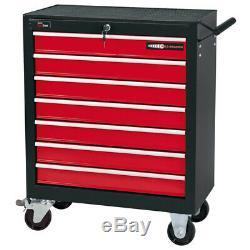 Draper Redline 7 Tiroirs Rouleau Cabinet De Rangement Pour Outils Pectorale Pour Outils À Main / Garage
