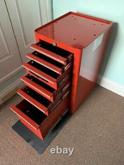 Enclencher Boîte À Outils Côté Cabinet. Modèle Rare N ° Kra4820a. 6-tiroir (withkey) Mint Cond