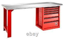 Facom 2000. Roll6m3g 2 Mètres 6 Tiroirs Rouleau Workbench Avec Top Steel