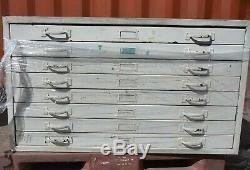 Fichier Tiroir Plan Rétro Funky 8 Outil Coffret Studio D'art Adelaide 1070x890x620mm