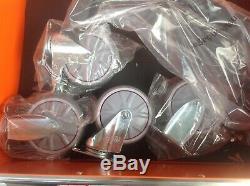 Gts Allemand 389 Outils Cabinet Avec 7 Dessine D'outils Coffre En Acier Avec 2 Clés