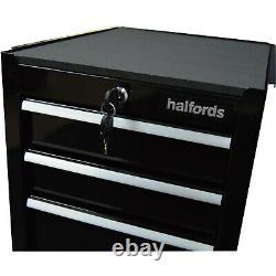 Halfords 4 Tiroirs Armoire À Outils Black Lockable