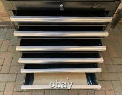 Halfords Advanced Tool Chest & Cabinet 3+6 Tiroirs Black Rrp £465 Heavy Duty