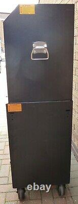 Halfords Advanced Tool Chest & Cabinet 6+6 Tiroirs Black Rrp £565 Heavy Duty