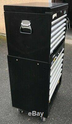 Halfords Industriel 6 Tiroirs Coffre À 6 Tiroirs Et Rouleaux Cabinet Boîte À Outils