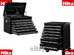 Hilka Boîte À Outils Verrouillable 7 Appoint Tiroirs 12 Outil Tiroirs