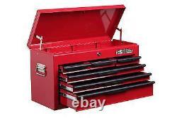 Hilka Tool Chest 6 Tiroir Red Metal Nouveau Garage Tools Box Cabinet Unité De Rangement