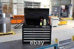 Hilka Tool Chest Nouveau Tiroir Black Metal Garage Tools Storage Box Armoire Unit