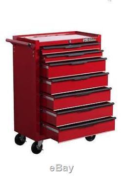 Hilka Tool Chest Trolley Nouveau 19 Tiroirs Armoire Mobile Rouge Rollcab Unité Cart Box
