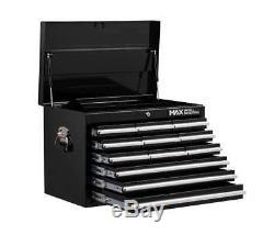 Hilka Tool Trolley Armoire De Rangement Coffre Mobile Rollcab 19 Tiroirs Noir