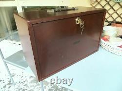 Ingénieurs Union Vintage Boîte À Outils / Chest Collectionneurs Tiroirs Cabinet Horlogers