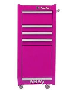 L'acier Rose Originale Boîte À 4 Tiroirs De Roulement Boîte À Outils Salon Cabinet