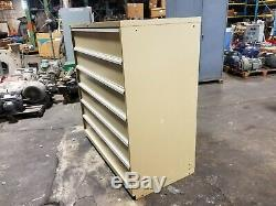 Lista 6 Tiroir En Acier Beige Heavy Duty Parts / Cabinet Outil 60 X 56 X 28-1 / 2
