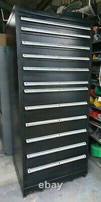 Lista Tool Cabinet Noir 12 Tiroir
