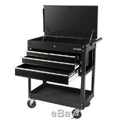 Mécanique De Roulement Coffre À Outils Cabinet Garage Boutique Organisateur Box Panier 4 Tiroirs