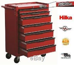 Mécanique Hilka Outil Chariot Garage Coffre De Rangement Cabinet Roulements À Billes 7 Tiroirs