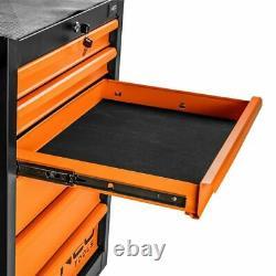 Neo Tools Mécanique De Garage Mécanique Armoire De Coffre Avec 7 Tiroirs