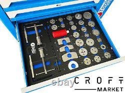 Nouveau 7 Tiroir Outil Trolley Armoire Outils Atelier Coffre De Stockage Boîte À Outils