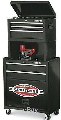 Nouveau! Craftsman Caisson 5 Tiroirs Armoire Garage Rangement Automatique Boîte À Outils Poitrine Roulettes