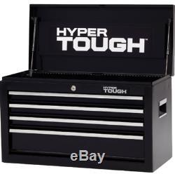 Nouveau Hyper Robuste 26w 4 Tiroirs Roulement À Billes Coffre À Outils Boîte Mécanique Cabinet