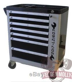 Nouvel Outil Coffret Atelier Deluxe Coffret 7 Tiroirs Armoire 7 Tiroirs Full Tools Trolley