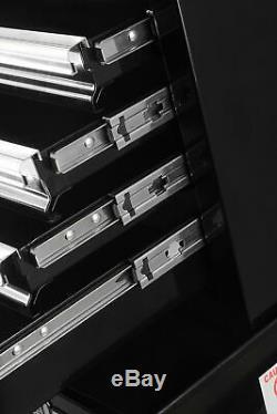 Nouvelle Marque De Qualité Verrouillables 26 Pouces À 4 Tiroirs Inférieur Du Meuble Coffre À Outils Noir