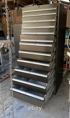 Original 12 Tiroir Lista Tool Cabinet Partie Rénovée