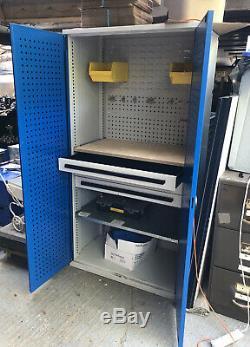 Outil Armoire De Rangement Vgc Outils De Garage Armoire Grand Coffre Avec Tiroirs