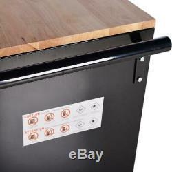 Outil Cabinet De Roulement Banc De Travail Rangement Pour Le Garage Workbench 9 Outils De Tiroirs