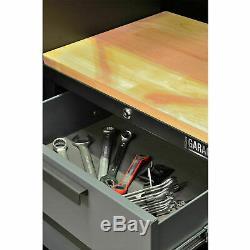 Outil Cabinet Set Professionnel Garage Atelier Rangement Tiroirs Mobilier Plan De Travail