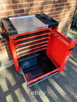 Outil Chariot Avec Cabinet Outils Atelier Acier Coffre De Rangement Porte Toolbox
