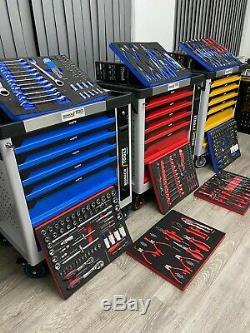 Outil Chariot Cabinet Avec 349 Outils Atelier Acier Coffre De Rangement Porte Toolbox