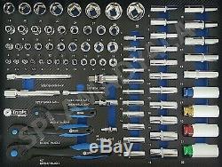 Outil Chariot Cabinet Avec Les Outils Atelier Acier Toolbox D'outils Rrp1350