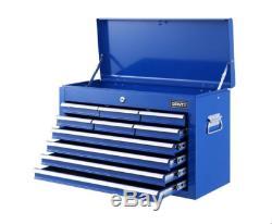 Outil Giantz 10 Tiroirs Boîte Commode Cabinet Rangement Pour Le Garage Boîte À Outils Bleu