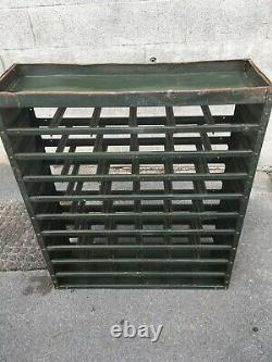 Outil Industriel Vintage En Acier / Pièces / Armoire De Rangement 49 Tiroirs 107cmx90cmx30cm