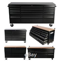 Outil Mobile Coffre 10/15 Tiroirs Atelier Boîte De Rangement Cabinet Garage Workbench
