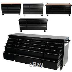 Outil Mobile Coffre-fort Armoire De Rangement Tiroir Roulant Organisateur Garage Workbench