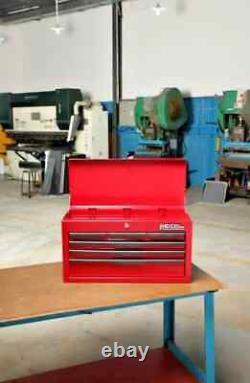 Poitrine À Outils Nouveau Hilka 6 Tiroir En Métal Rouge Garage Outils Boîte Cabinet Unité De Rangement