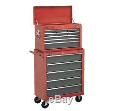 Red Sealey Boîte À Outils Pour Outils De Rangement
